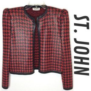 St. John Evening Cocktail Blazer Jacket Vintage M
